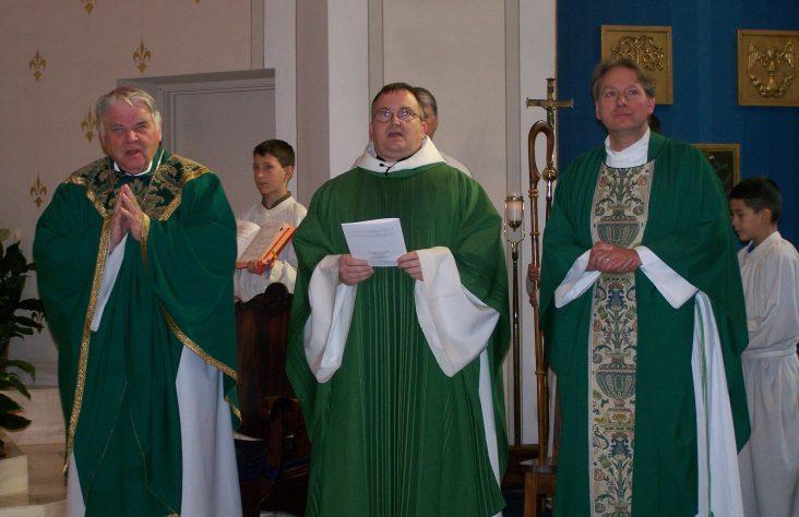 Father Kohrman installed at St. Vincent de Paul, Elkhart