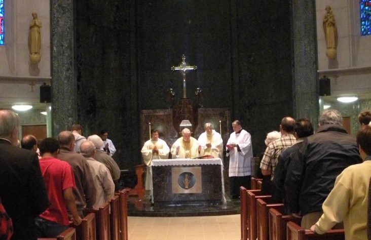 Chapel rededicated to honor  St. Mother Theodore Guérin