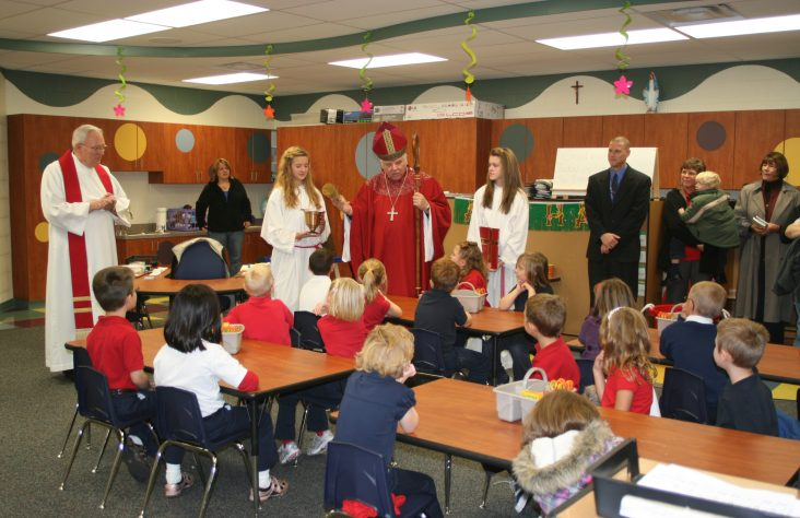 St. Charles new kindergarten facility blessed