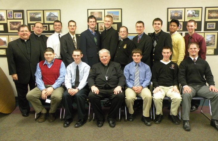 Christmas luncheon honors seminarians