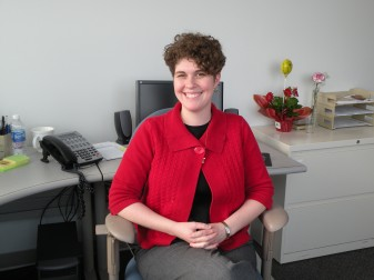 Natalie Kohrman joined the Office of Spiritual Development this month as the new director.