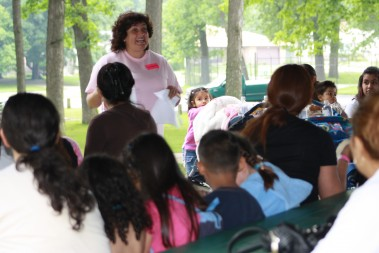 Margarita Rodriguez taught a parenting class in Spanish last summer. Her bilingual counseling skills make her a strong asset for the diocesan Project Rachel program.