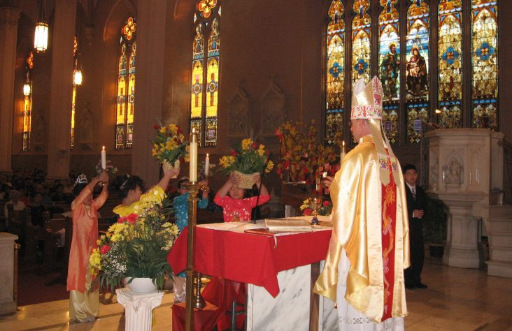 Vietnamese Mass opens New Year