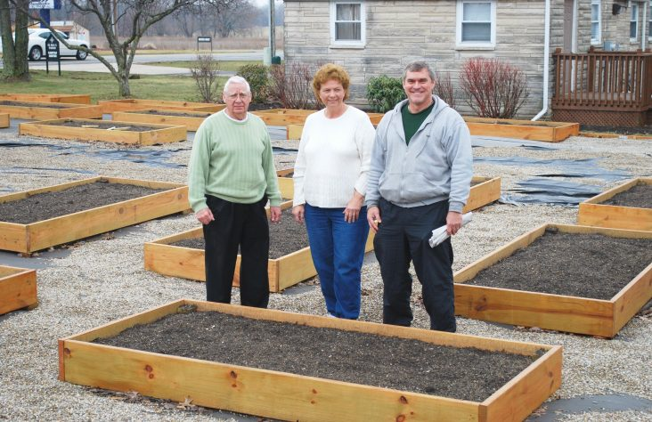 St. Pius X Parish garden promises a rich harvest