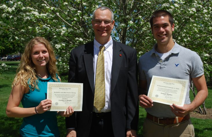 Area Catholic students receive top theology awards at Notre Dame