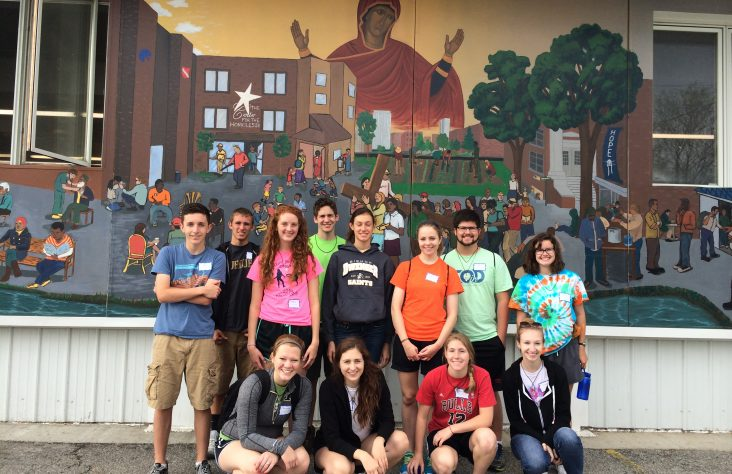 Teens encounter Christ's love and serve as disciples on bcX Retreat