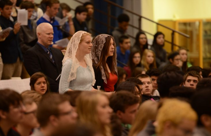 Marian students encouraged to trust in the healing message of Lourdes