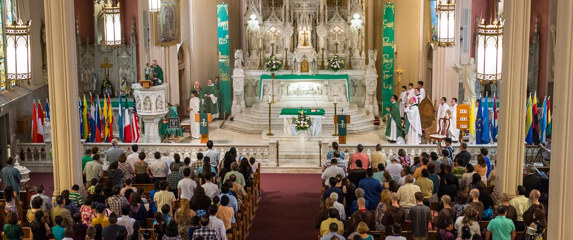 St Patrick S Celebrates 125 Years In Fort Wayne Today 39 S Catholic