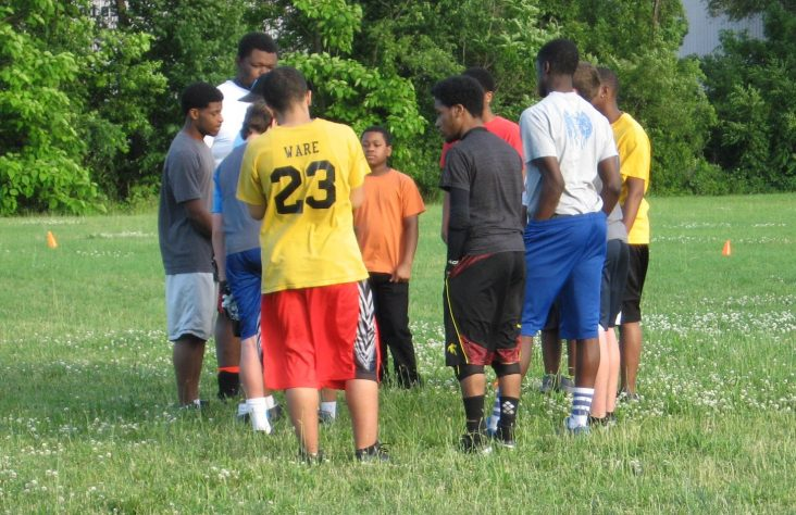 Flag football game offers life-changing impact at St. Augustine Parish