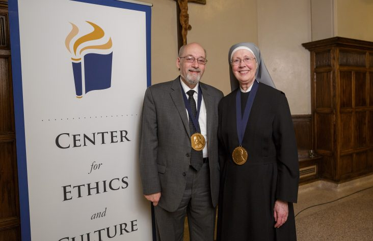 The Notre Dame Evangelium Vitae Award goes to Little Sisters of the Poor