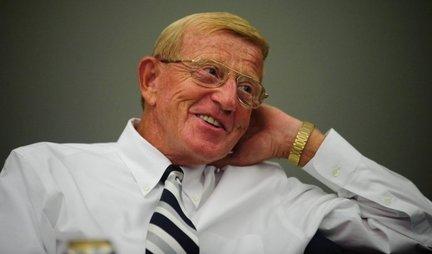 Ten Questions For Coach Lou Holtz
