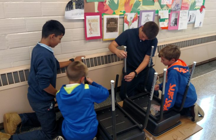 Grade school class reunion inspires donation