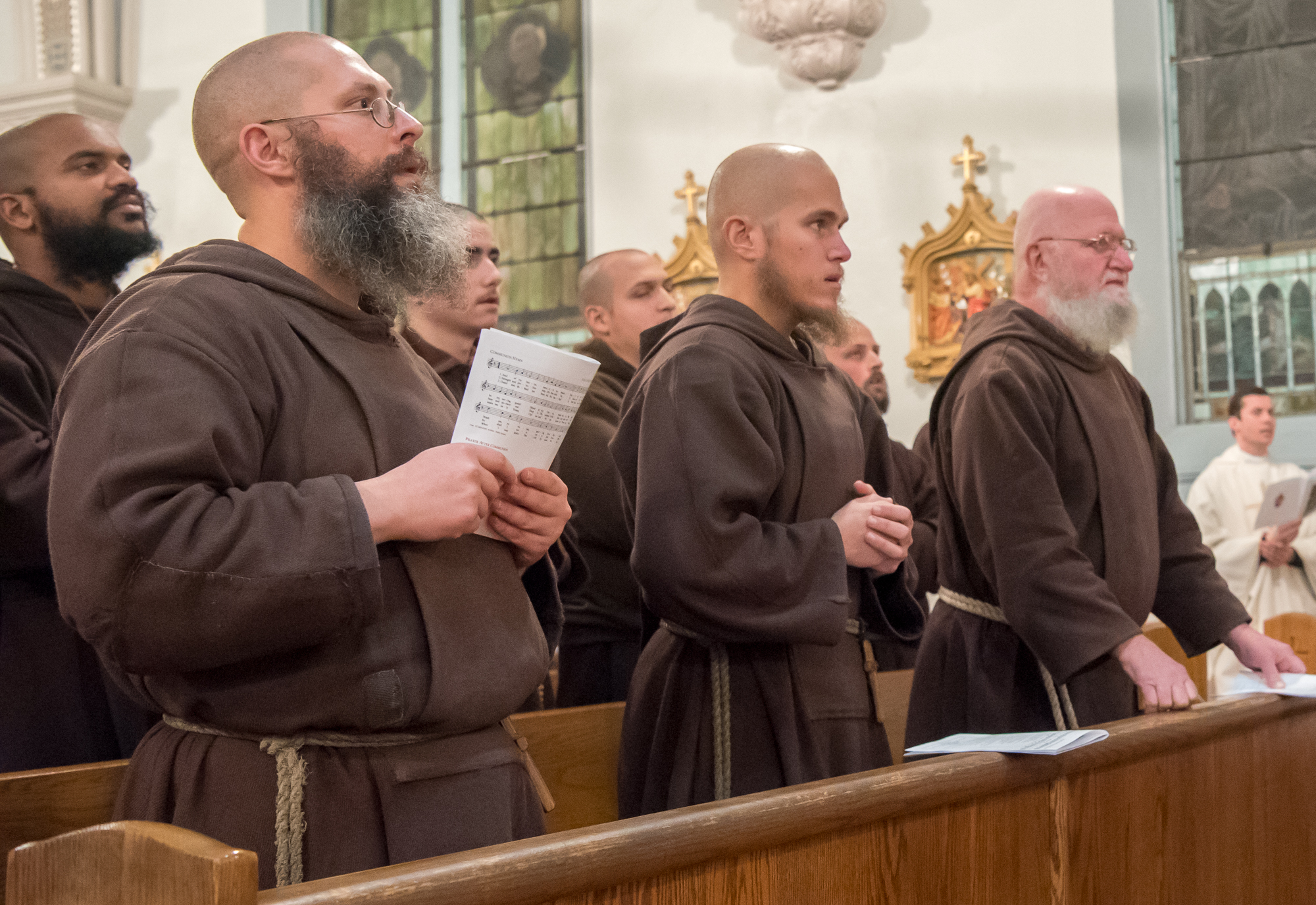 Three Franciscan Friars Minor Take Perpetual Vows Today