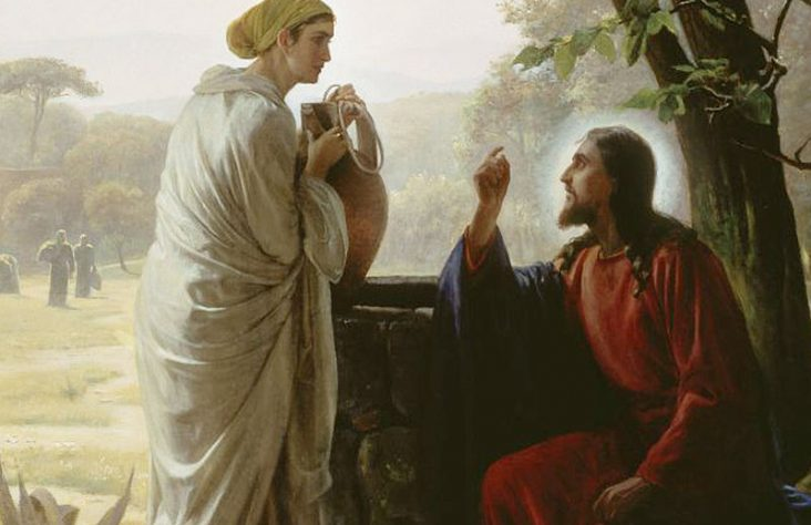 In Truth and Charity: The woman at the well