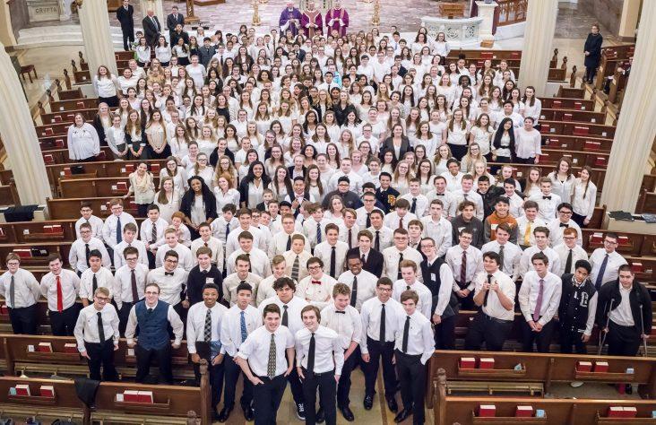 Pueri Cantores raise voices to heaven