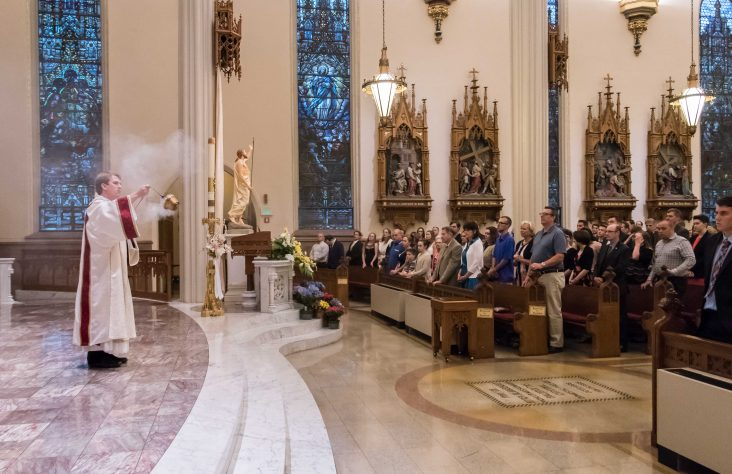 Bishop Dwenger, Bishop Luers high schools celebrate baccalaureate Masses