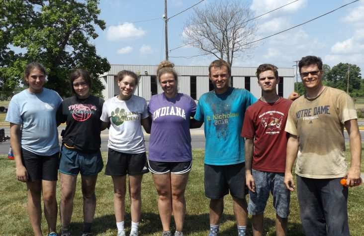 Youth rooted in service at Catholic Heart work camp