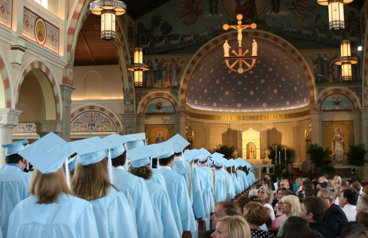 Baccalaureate Masses celebrated for Marian, Saint Joseph