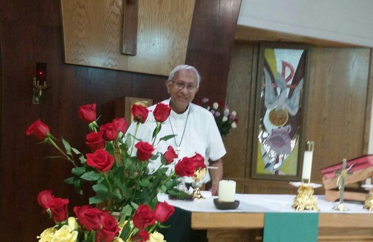 Father Ramenaden celebrates 50 years as a monk
