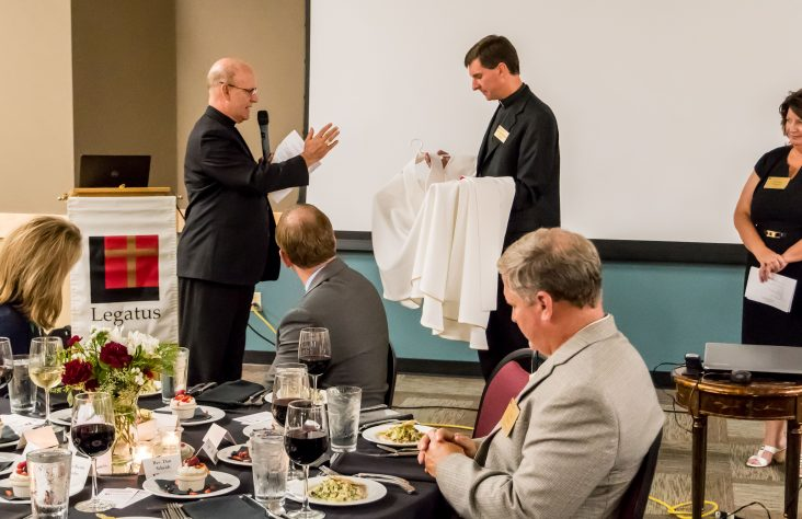 Father Daniel Scheidt named Legatus National Chaplain of the Year