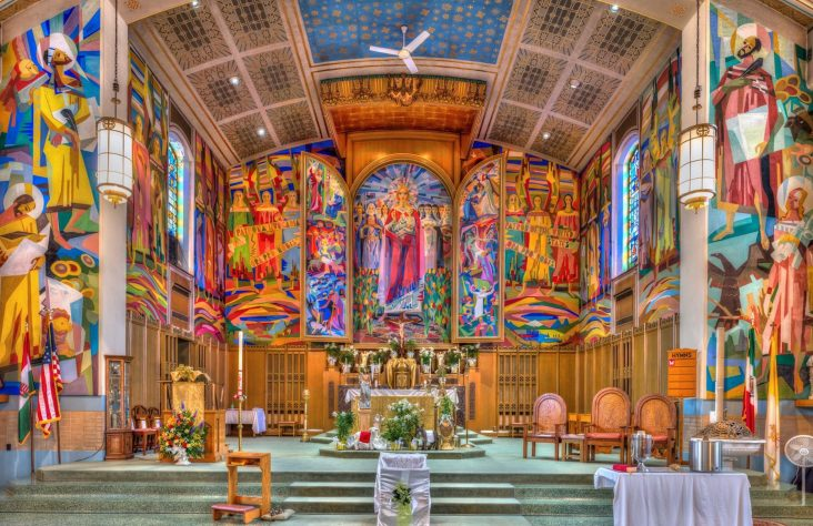 A century-old parish and committed community