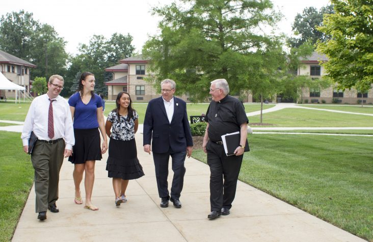 Holy Cross College sets a bold course for its future
