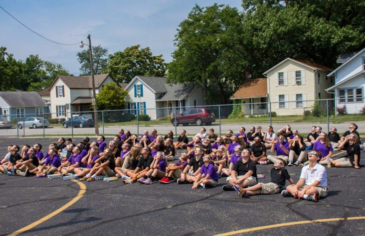 Three parishes build community through one school