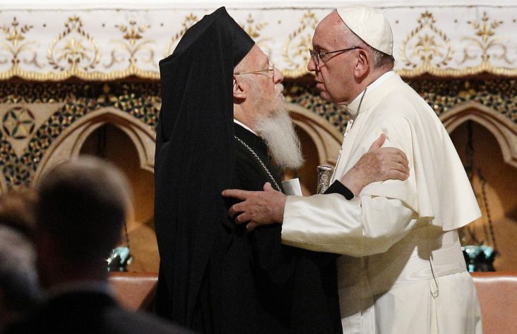 Pope, Orthodox patriarch issue joint plea for care of creation