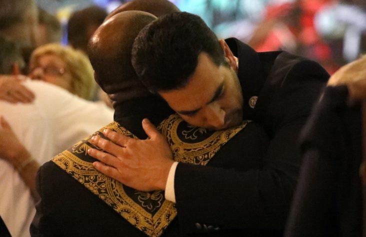 Las Vegas Catholic churches, schools respond with prayers