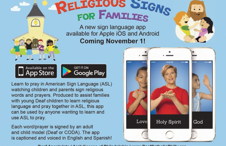 Signs of the Spirit: App teaches blessings, how to pray in ASL