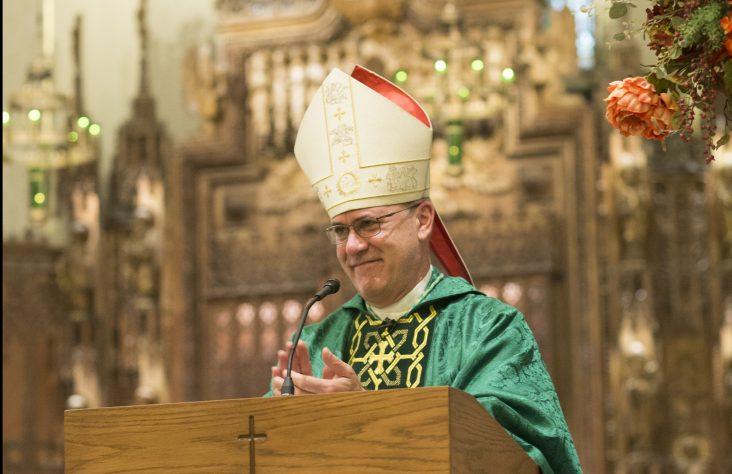 Weekly Schedule of Bishop Rhoades