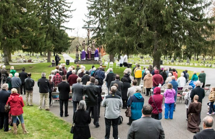 All Souls' Day Mass at Catholic Cemetery, 'a place of love and prayer'