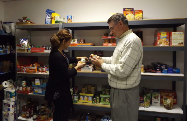 St. Vincent food pantry seeks to serve the needy in Elkhart