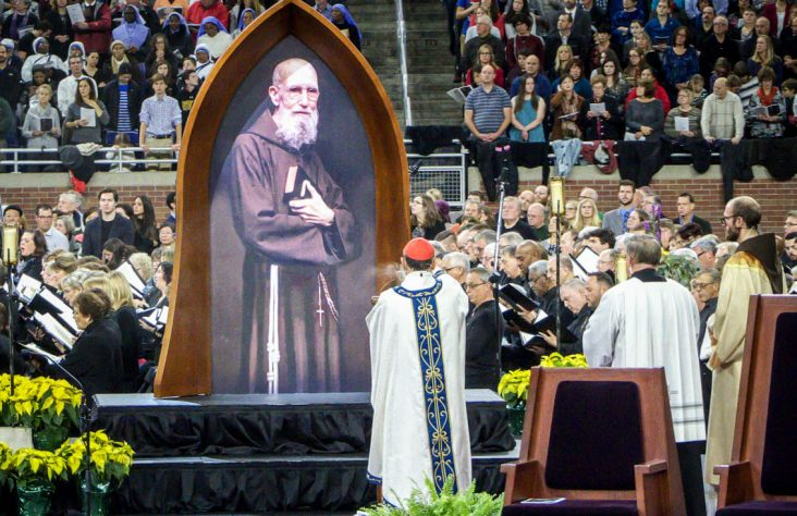 Blessed Solanus Casey lived out faith, hope, charity every day, says cardinal