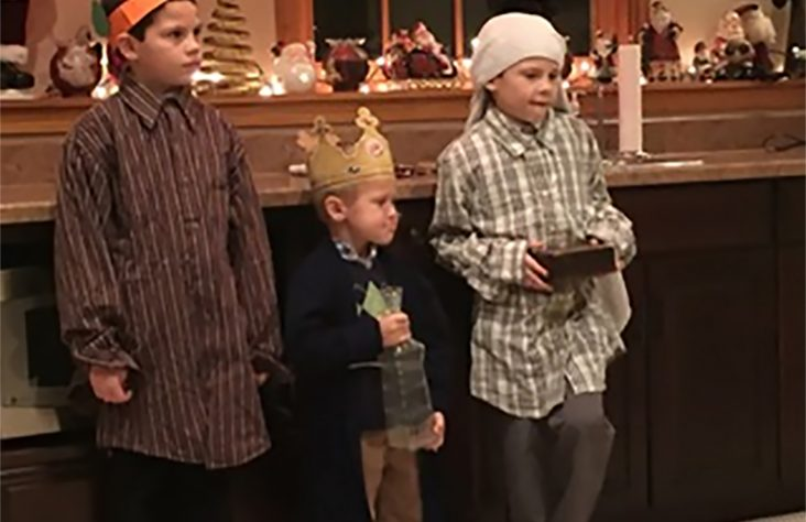 Family tradition brings Nativity story alive for children