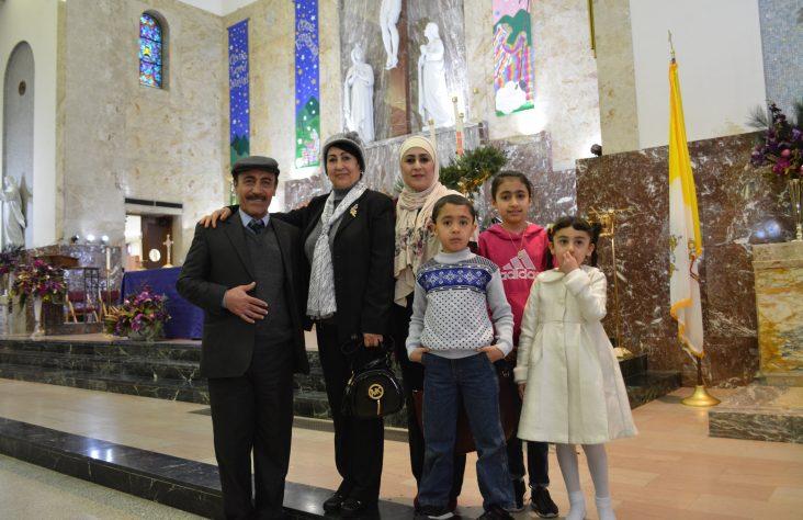 Local effort reunites Iraqi refugee family