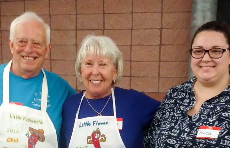 Parishioners embody patron's missionary spirit