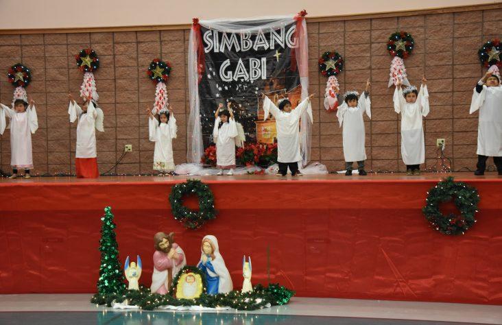 Filipino community celebrates Simbang Gabi at St. Therese