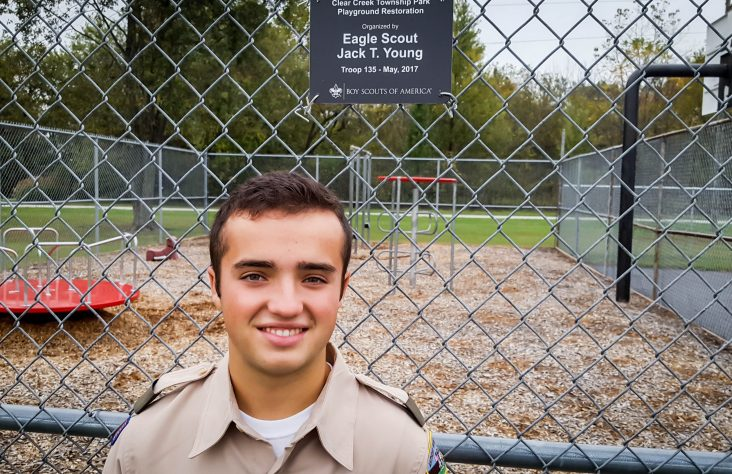 Rebuilding park gives wings to Eagle Scout