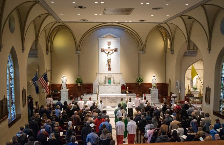 Basilica title honors church's role in diocese, nation's founding
