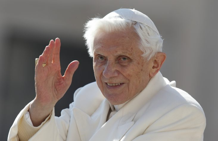 Pilgrim pope: Benedict says he's journeying toward God