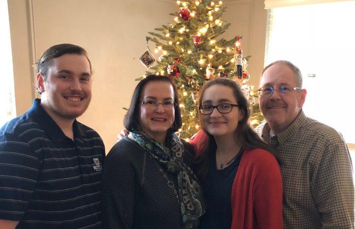 Looking back: Jones family joins the Catholic Church