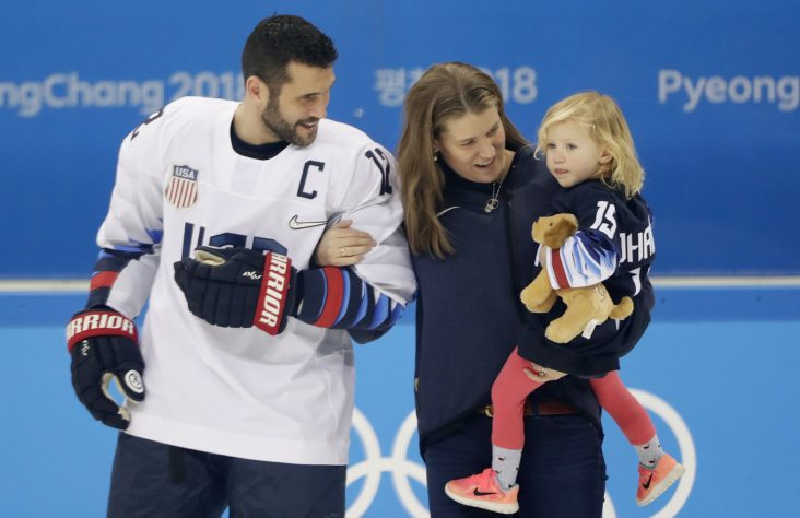 Captain of Olympic hockey team played for Catholic schools