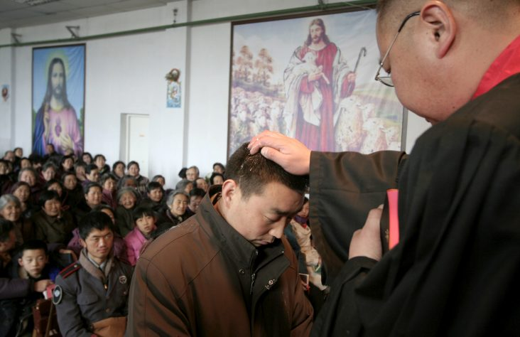 Nearly 50,000 baptisms registered in China in 2017, says Vatican