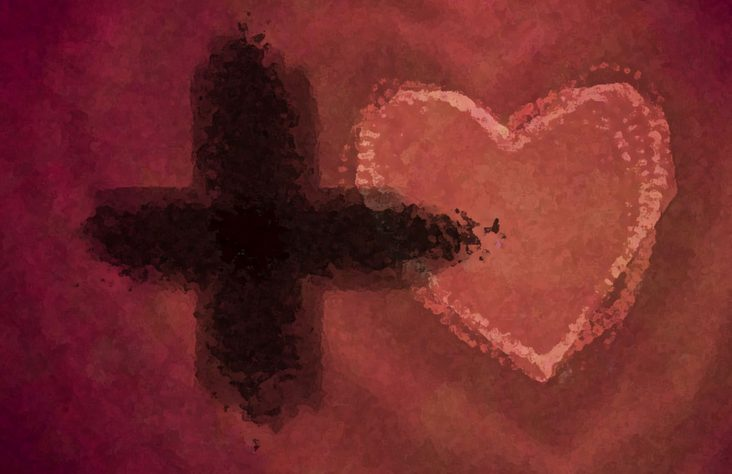 Soup dinner and no dessert? Valentine's Day Ash Wednesday-style