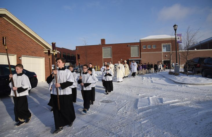 Mishawaka Catholic celebrates Feast of Presentation of the Lord