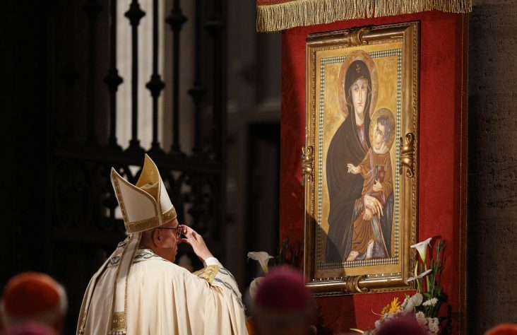 Pope adds feast of Mary, Mother of the Church to calendar