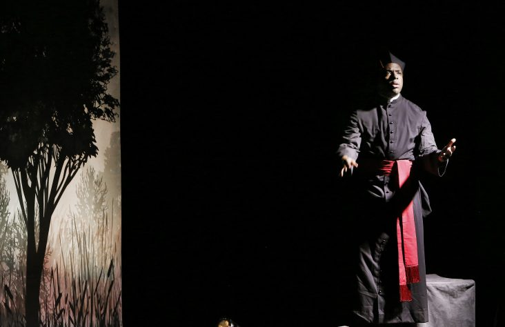 Life of African-American priest told through play