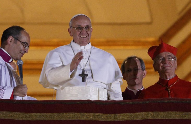 Fifth anniversary of the pontificate of Pope Francis