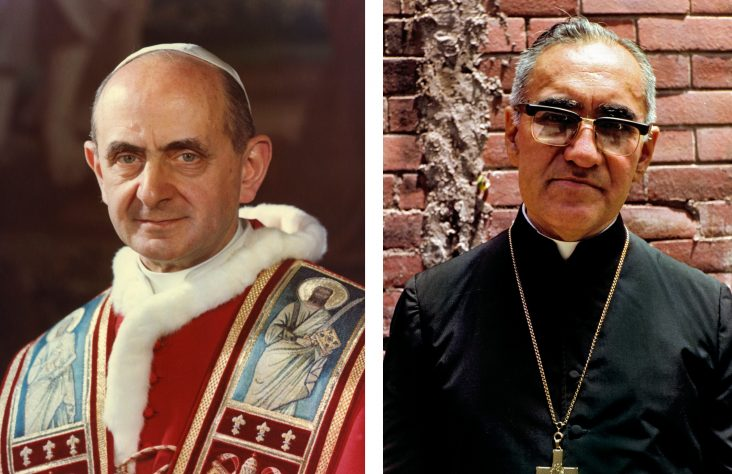 Miracles attributed to Pope Paul VI, Romero clear way for sainthood